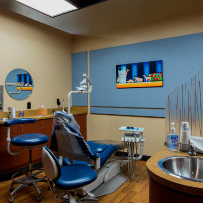 Comfortable Modern Exam Rooms